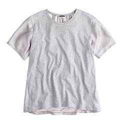 Silky knit T-shirt