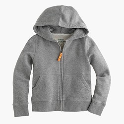 Kids' hangout zip hoodie in heather graphite