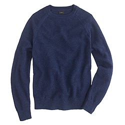 Wallace & Barnes indigo seedstitch sweater