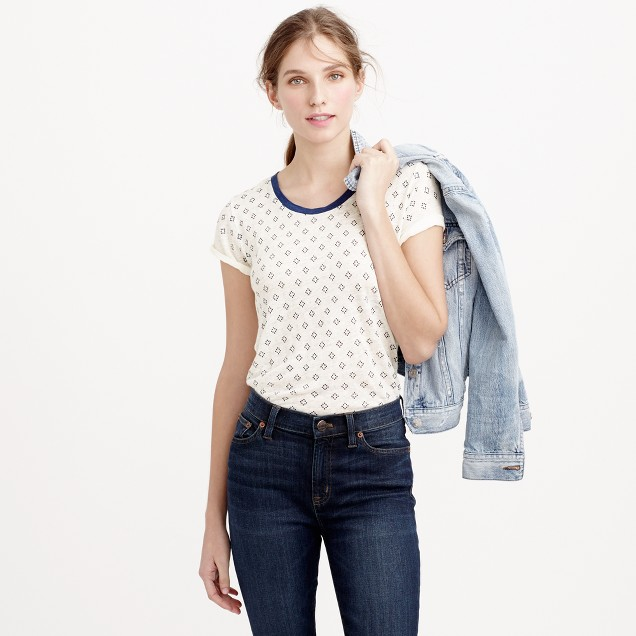 Linen bandana T-shirt