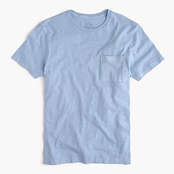 Slim garment-dyed T-shirt