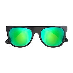 Super™ Mirrored Cove Flat Top Sunglasses