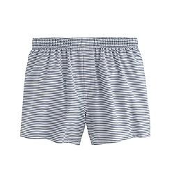 Horizontal-striped boxers