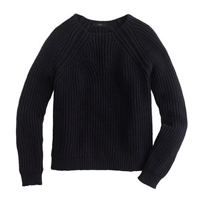 Mixed-stitch sweater