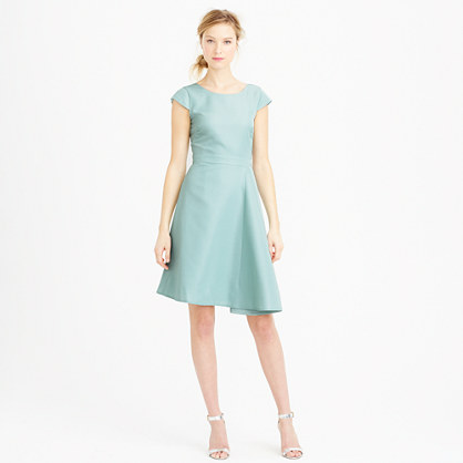 Julia dress in classic faille