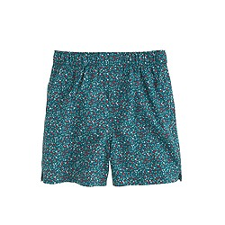 Boys' speckled cotton boxers