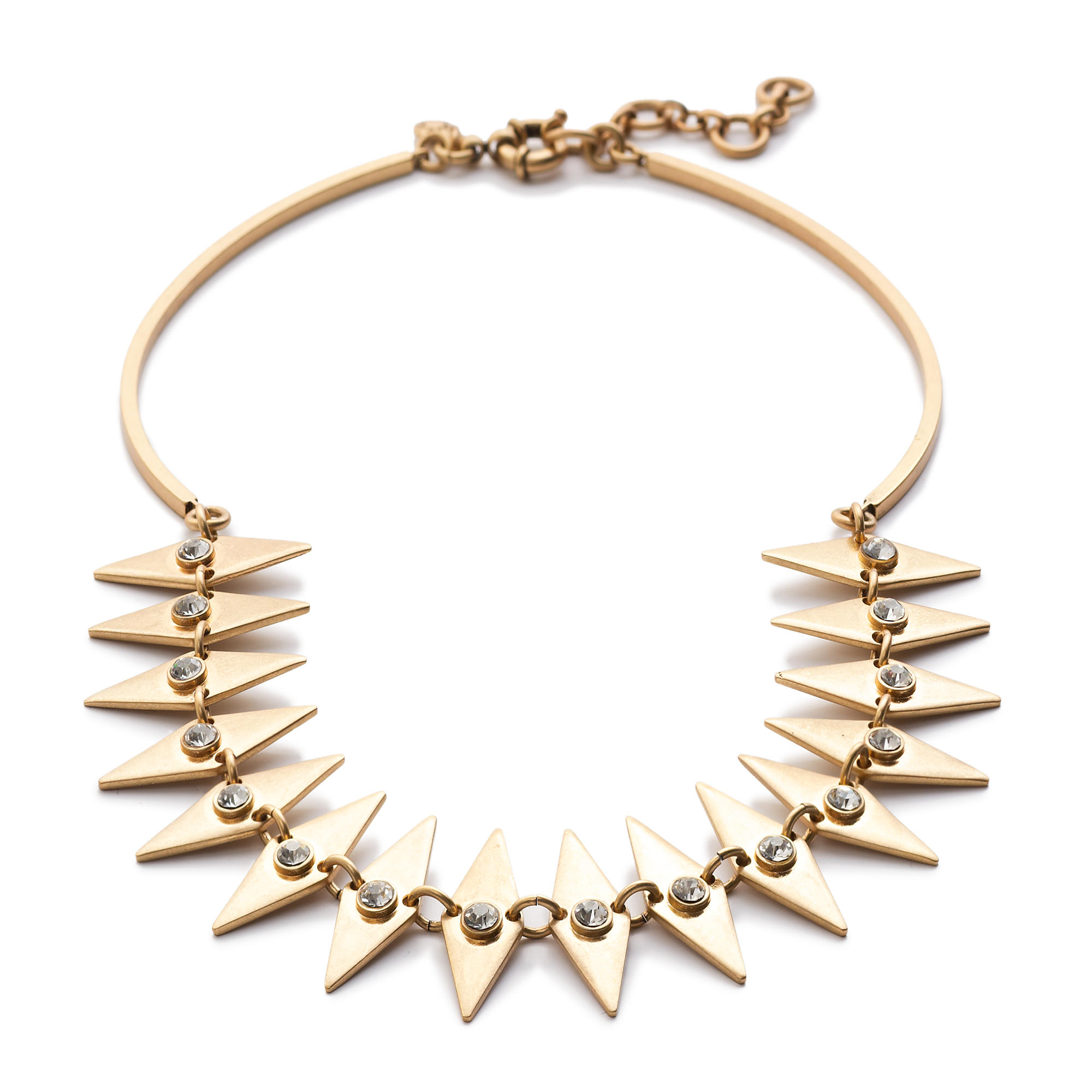 Crystal diamond collar necklace j crew for J crew jewelry 2015