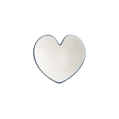 Ceramic heart catchall
