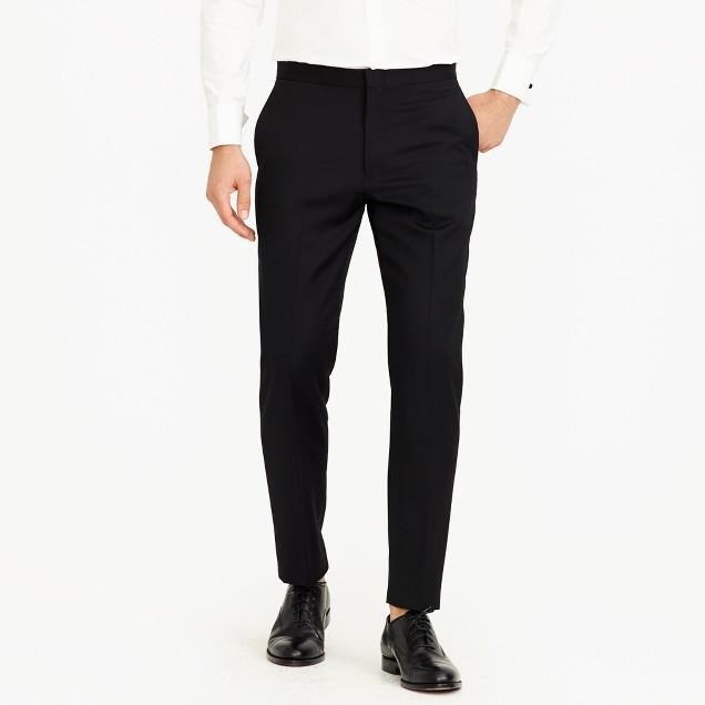Crosby tuxedo pant in Italian wool