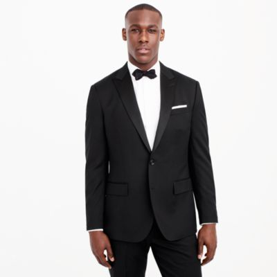 Crosby tuxedo jacket in Italian wool