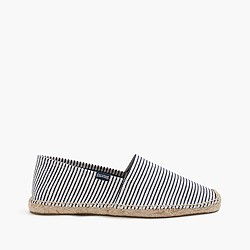Soludos® for J.Crew espadrilles in stripe