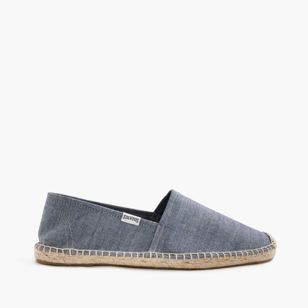 Soludos® for J.Crew espadrilles in chambray
