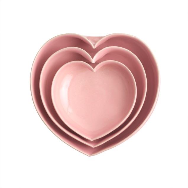 JD Wolfe™ heart bowls