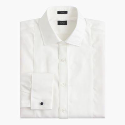 Crosby piqué bib tuxedo shirt