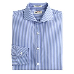 Thomas Mason® for J.Crew Ludlow shirt in atlantic blue stripe