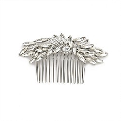 Jeweled long comb