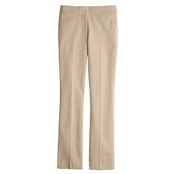 New Campbell capri pant in bi-stretch cotton
