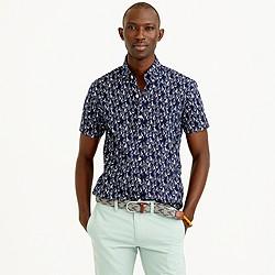 Secret Wash short-sleeve shirt in harbor print