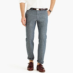 Flecked chambray chino in 770 fit