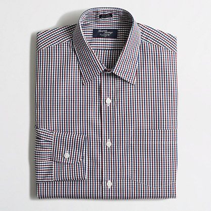 Tall Thompson dress shirt in check