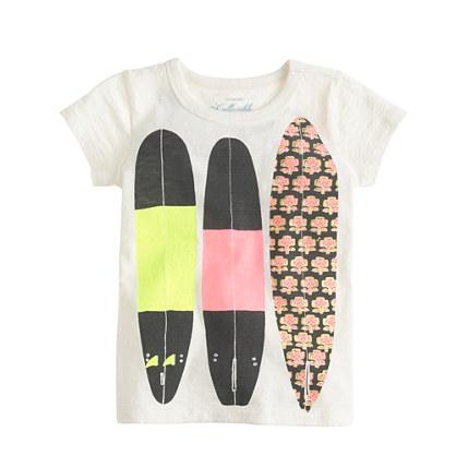 Girls' surf club T-shirt
