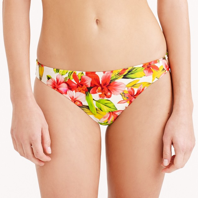 Hibiscus bikini bottom