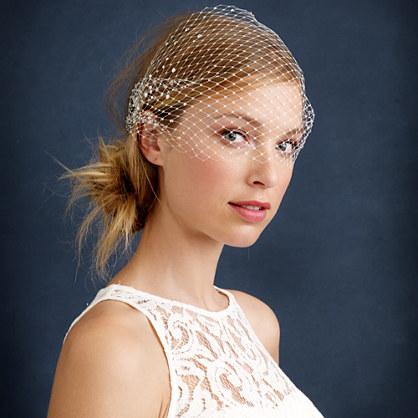 Twigs & Honey® rhinestone birdcage veil