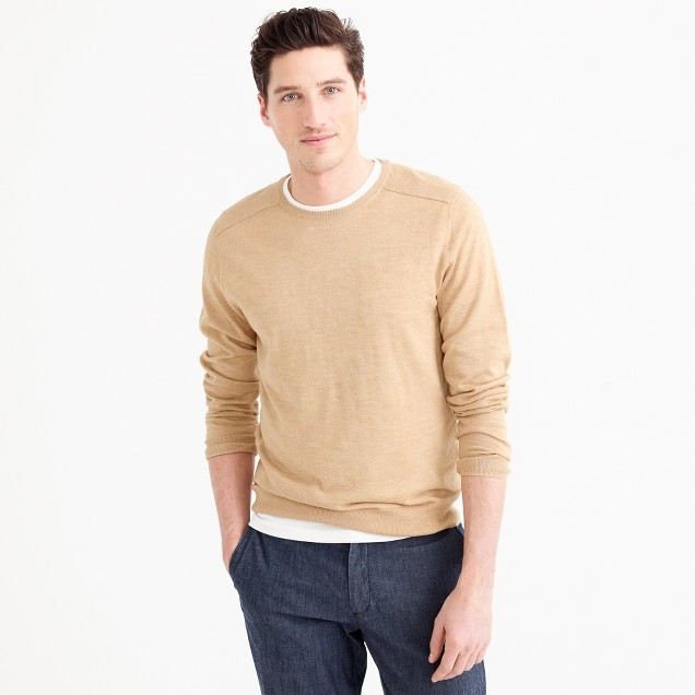 Cotton-linen sweater