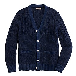 Wallace & Barnes fisherman cardigan