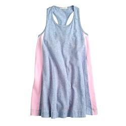 Girls' colorblock shift dress