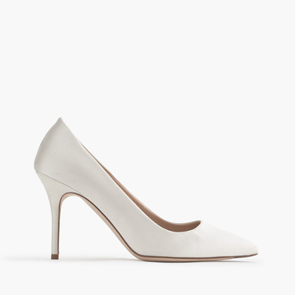 Elsie satin pumps
