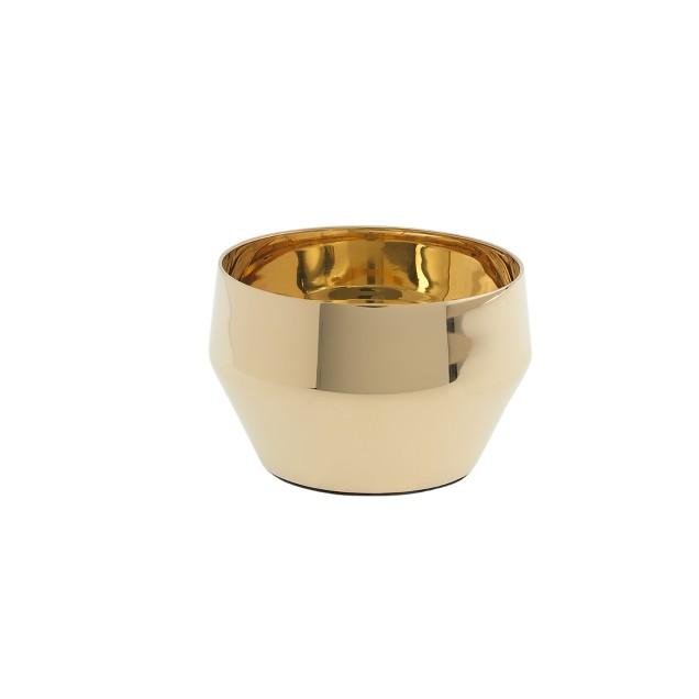 Skultuna™ brass tea light holder