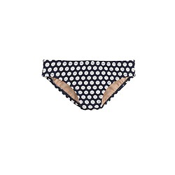 Girls' bikini bottom in staggered dot