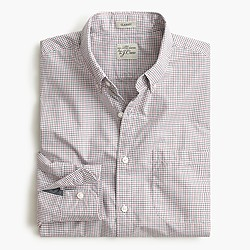 Secret Wash shirt in state check