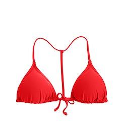 T-back string bikini top