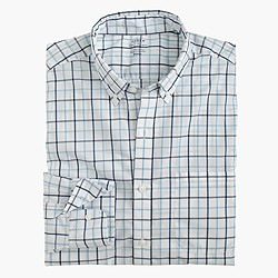 Lightweight Secret Wash shirt in tattersall