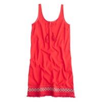 Embroidered beach dress