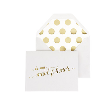 Sugar Paper® Be My Maid of Honor card
