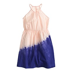 Girls' dip-dyed sundress