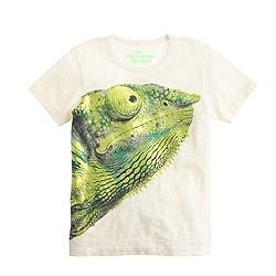 Boys' chameleon T-shirt