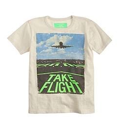 Boys' glow-in-the-dark take flight T-shirt