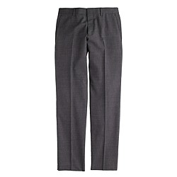 Ludlow suit pant in Italian tick-weave wool-cotton