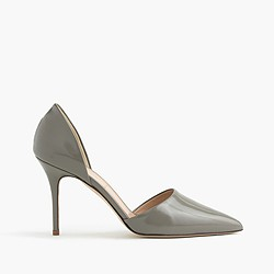 Elsie glossy leather d'Orsay pumps