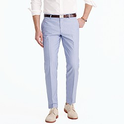 Ludlow suit pant in engineer-striped cotton