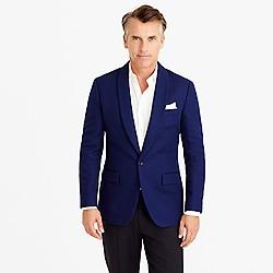 Ludlow shawl-collar dinner jacket in fiore cotton