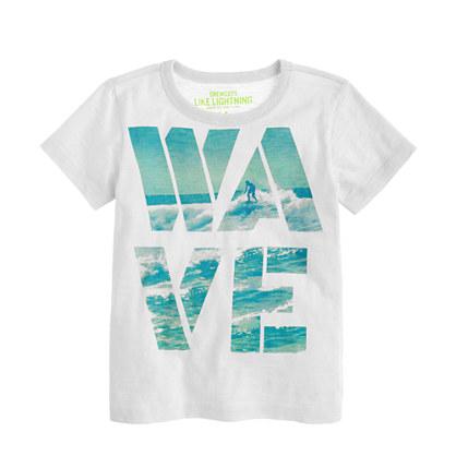 Boys' wave T-shirt