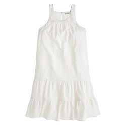Tiered flutter beach dress