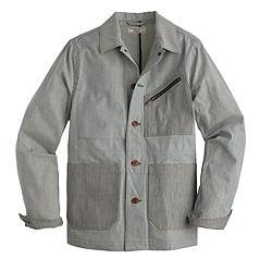 Wallace & Barnes indigo chore coat
