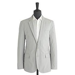 Ludlow sportcoat in fine-striped cotton