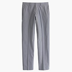 Crosby suit pant in Italian cotton oxford cloth